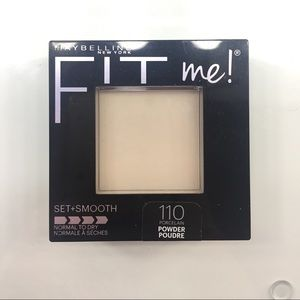 Maybelline Fit Me Set + Smooth Face Powder